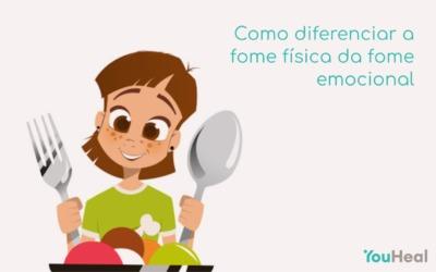 Como diferenciar a fome física da fome emocional