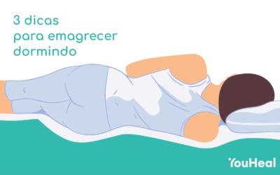 3 dicas para emagrecer dormindo